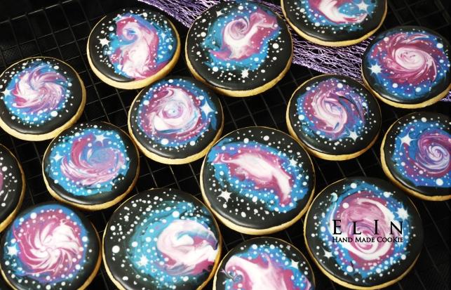星空銀河餅乾_銀河系糖霜餅乾