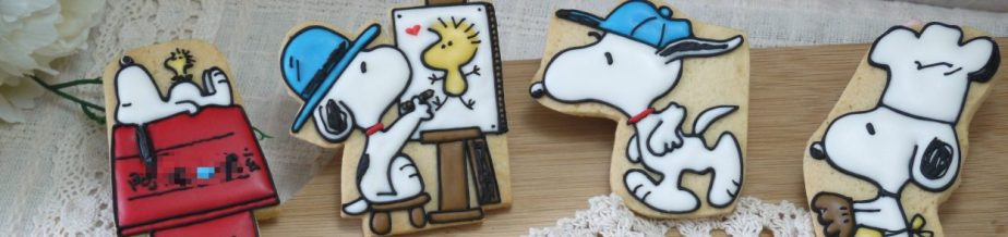 史努比收涎糖霜餅乾  Anti-Drooling Cookie Snoopy