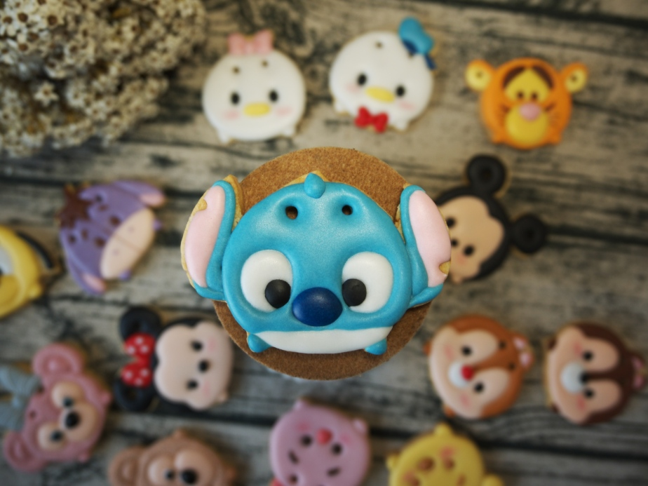 迪士尼 TSUM TSUM 糖霜餅乾 Disney Royal icing cookie
