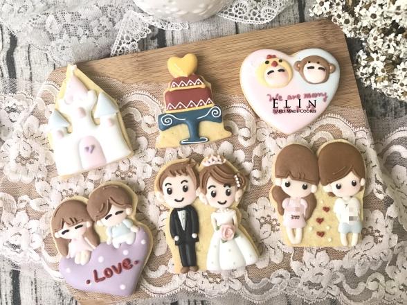 婚禮 結婚 糖霜