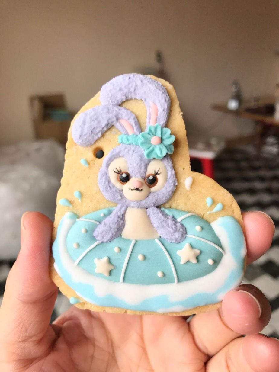 史黛拉兔 糖霜餅乾 stella lou royal icing cookie