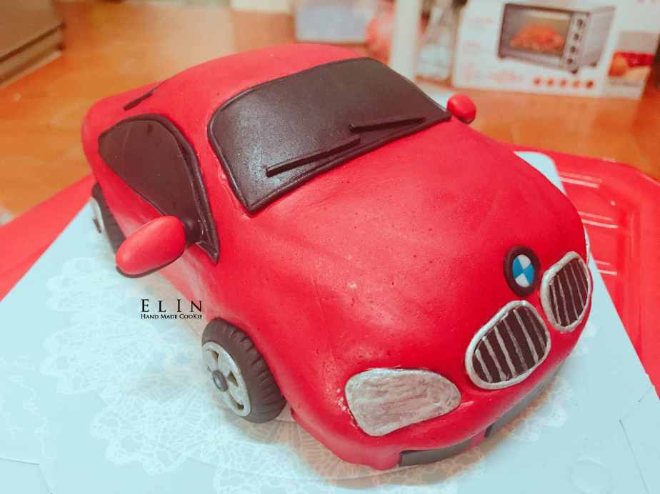 BMW fondant