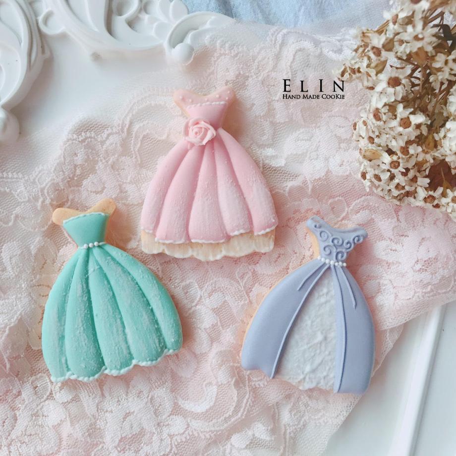 婚禮小物蛋白糖霜餅乾