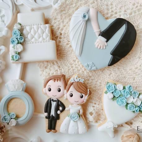 婚禮糖霜餅乾 婚禮小物 婚禮餅乾課程
