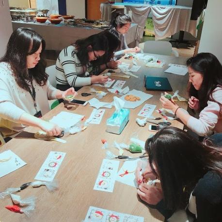 企業糖霜餅乾 課程研習 課程教學