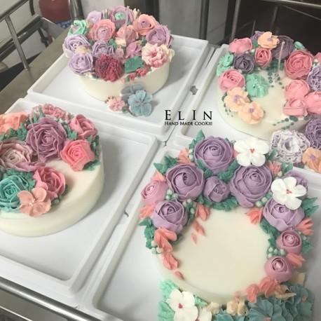 校園學校蛋糕裝飾 擠花課程 師生研習 北斗家商 餐飲技術科