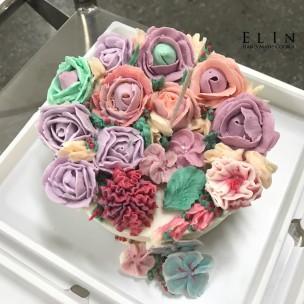 學校蛋糕裝飾 擠花課程 師生研習 北斗家商 餐飲技術科