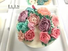 大豆蠟燭韓式 校園蛋糕裝飾 擠花課程 師生研習 北斗家商 餐飲技術科