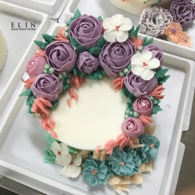 蛋糕裝飾 韓式擠花教學 學校研習 校園教課