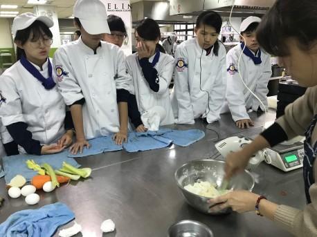 大興高中 糖霜餅乾 課程研習 校園烘焙研習 教師