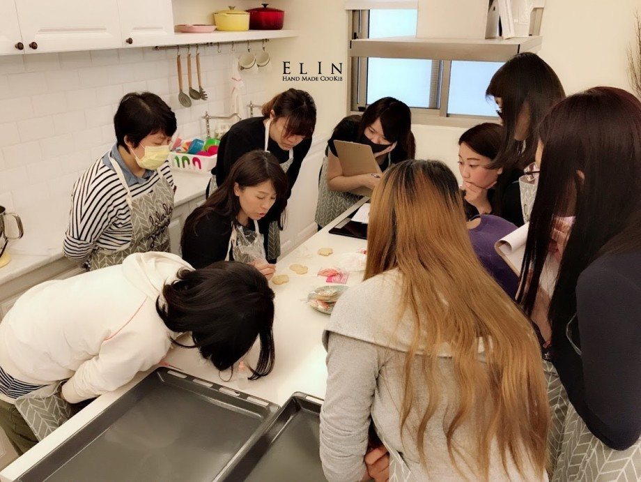 糖霜餅乾課程教學 烘焙教室烘焙餅乾 課程
