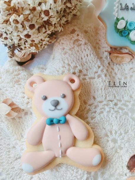 小熊翻糖餅乾 翻糖餅乾課程