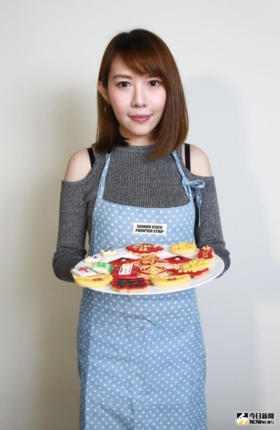 新聞 楊恩緹愛畫畫 手作糖霜餅乾意外成副業
