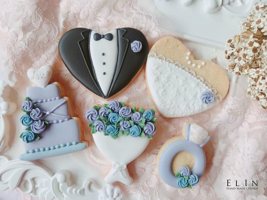 親手製作婚禮禮物-糖霜餅乾課程