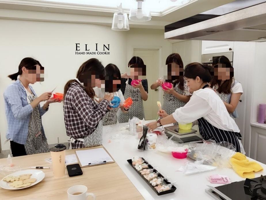 烘焙手工餅乾@台中種子洋行櫻花貓糖霜