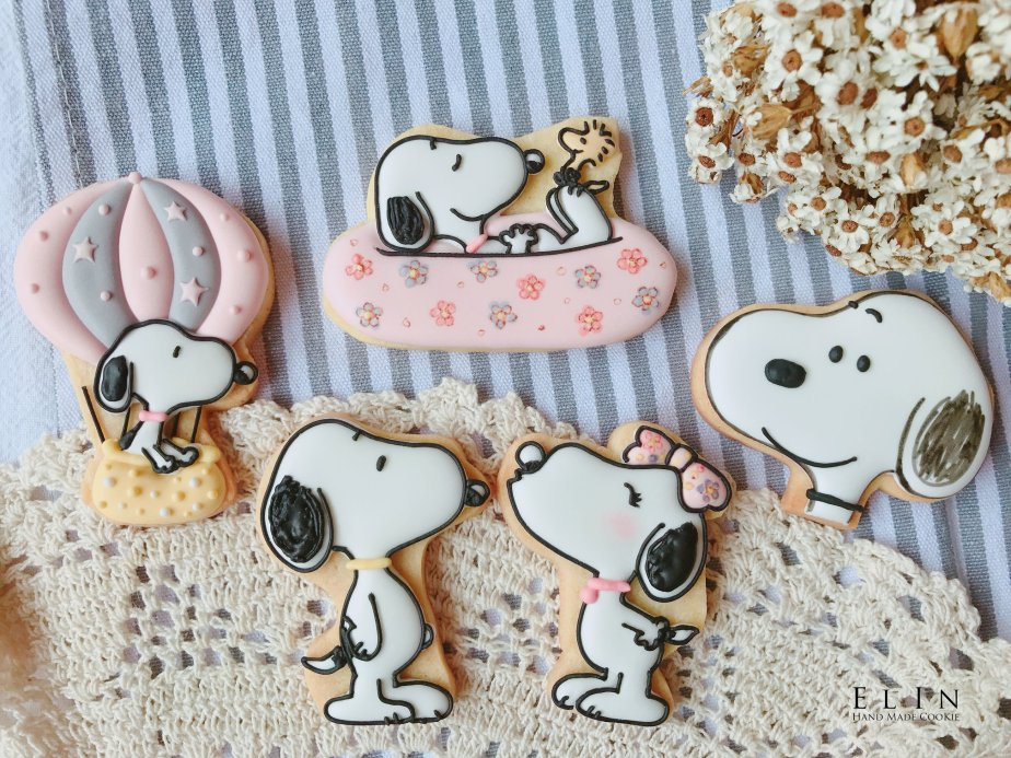 SNOOPY_icing_cookie