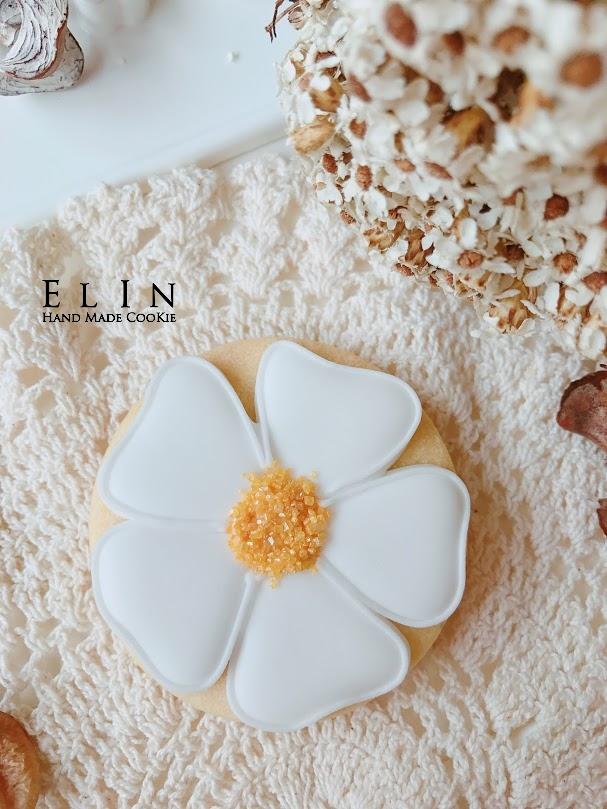 花朵小花糖霜餅乾