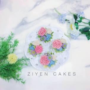 decorated cake 韓式擠花學生作品