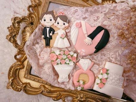 婚禮糖霜餅乾DIY