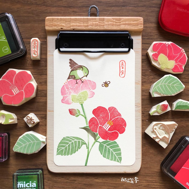 Camellia_stamp